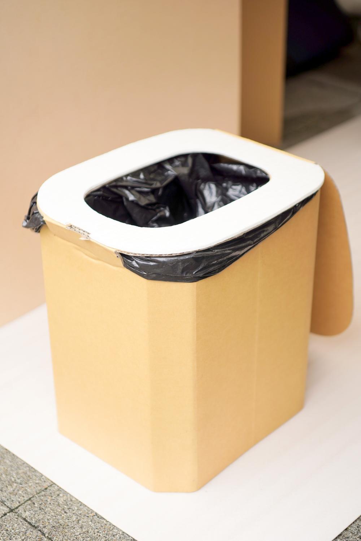 ぼうさいこくたいその3_段ボール製簡易トイレ
