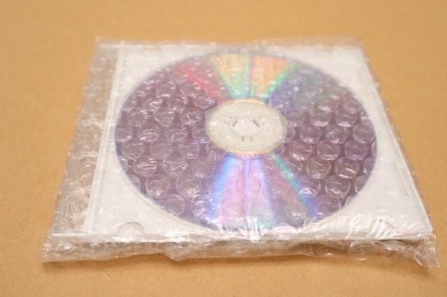 CDが割れないように梱包する方法