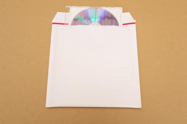 CDをクッション封筒で梱包して安く発送する方法