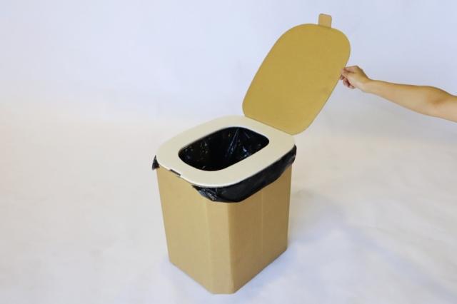 近日発売!簡易トイレ